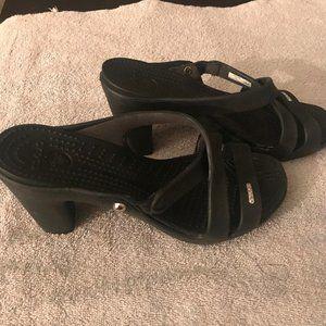Size 7 croc heels NWOT
